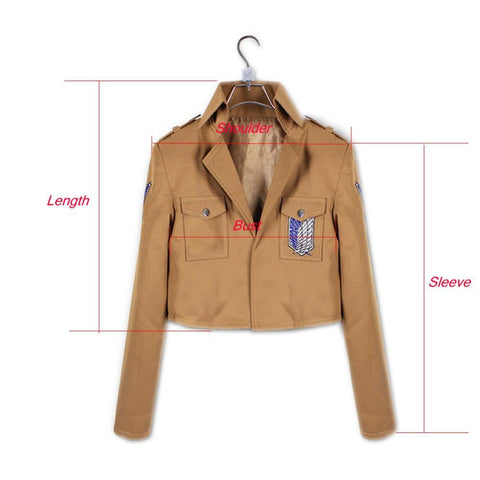 Attack on Titan Recon Corps jacket (cosplay) - Geo Dapper