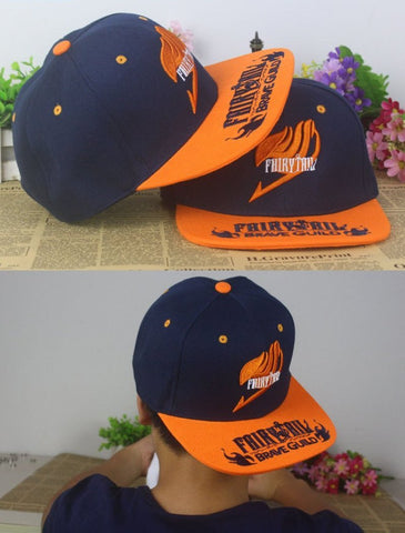 Fairy Tail Snapback Baseball Hat - GeoDapper
