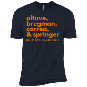 Houston's Killer ABC's T-Shirt (Navy)