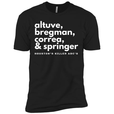 Houston's Killer ABC's T-Shirt (black)