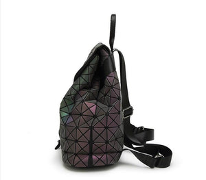 Holographic Glow Backpack