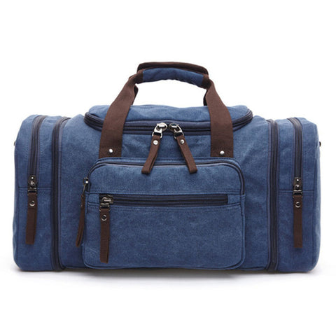 Image of Retro Canvas Duffle