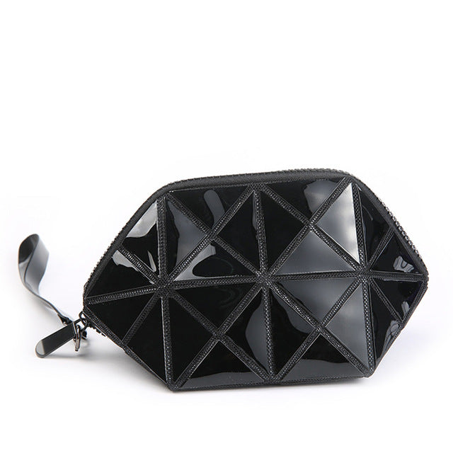 Geometric Makeup Bag