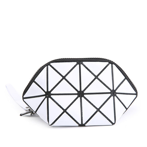 Image of Geometric Makeup Bag