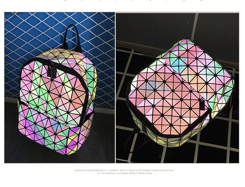 Image of Holographic Glow Rucksack