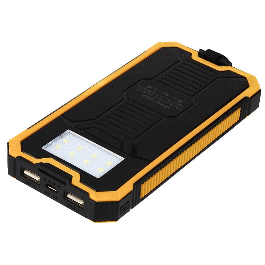 Waterproof Solar Charger / Dual USB