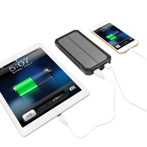 Image of Waterproof Solar Charger / Dual USB