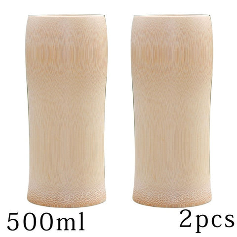 Zen Wine & Tea Tumblers - Natural Bamboo