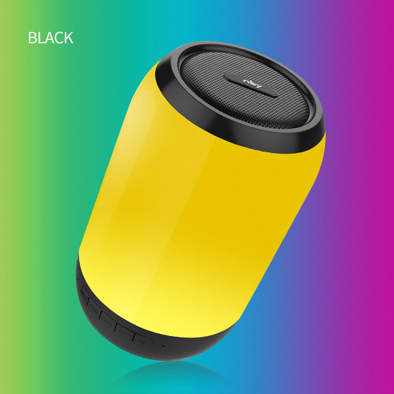 Mini Bluetooth Speaker LED Outdoor Wireless Stereo Speaker Built-in  Microphone Handsfree TF Card AUX MP3 Music Play FM Radio For iPhone Samsung