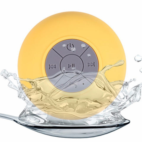 Image of Mini Wireless Bluetooth Speaker Waterproof Shower Speaker