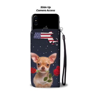 Chihuahua dog Print Wallet Case-Free Shipping-MA State - The Horse Barn
