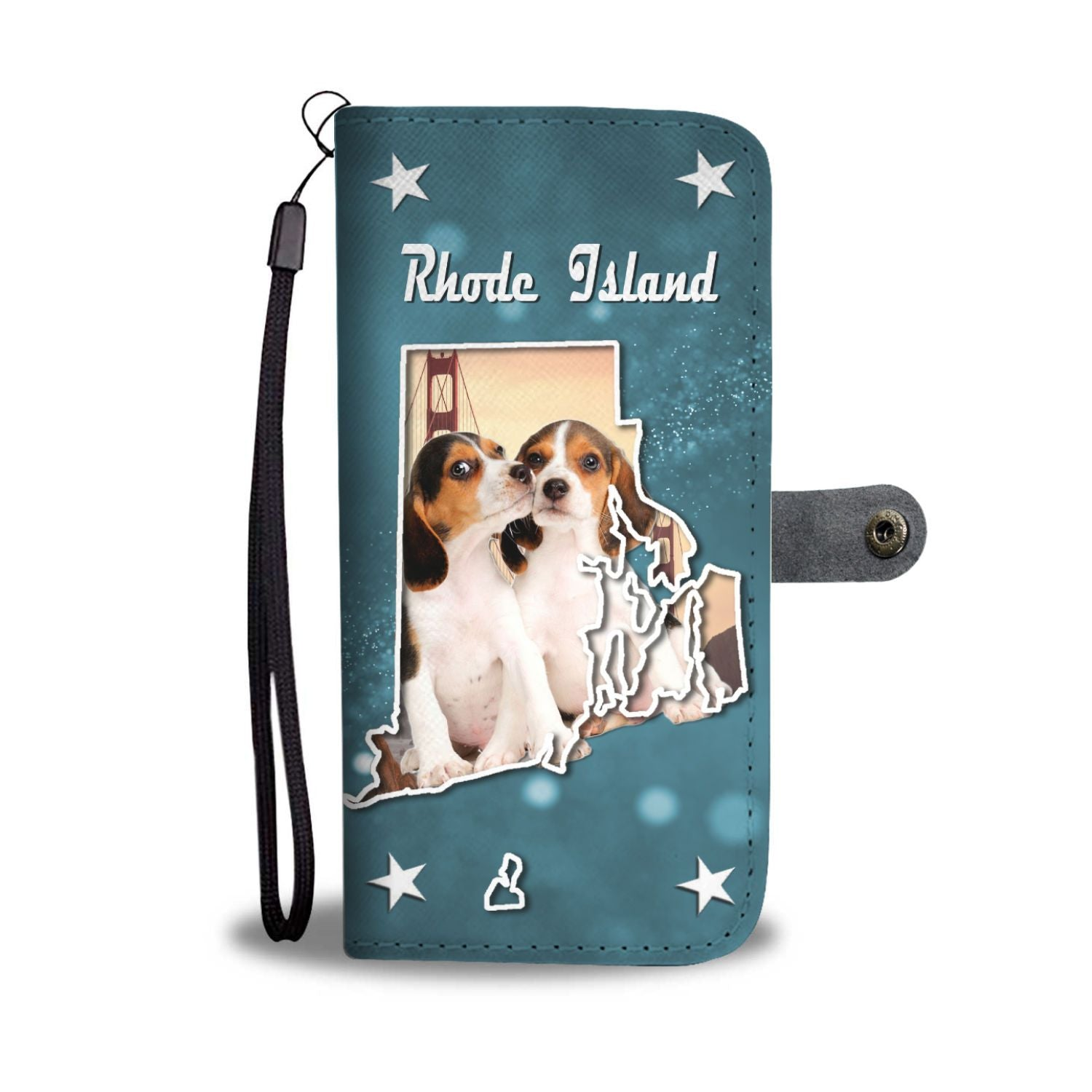Cute Beagle Dog Print Wallet Case-Free Shipping-RI State - The Horse Barn