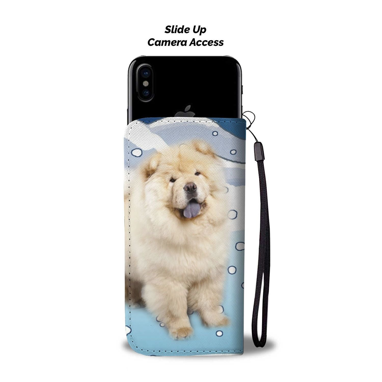 Cute Chow Chow Dog Print Wallet Case-Free Shipping-FL State - The Horse Barn