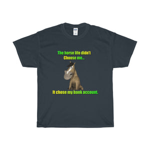The Horse Life Unisex Heavy Cotton Tee - The Horse Barn