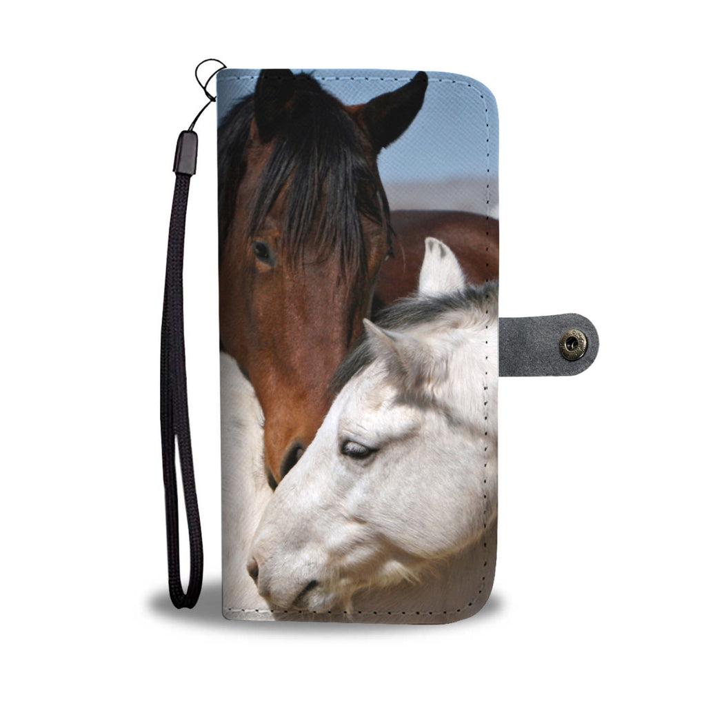 A Horses Wallet Phone Case - The Horse Barn