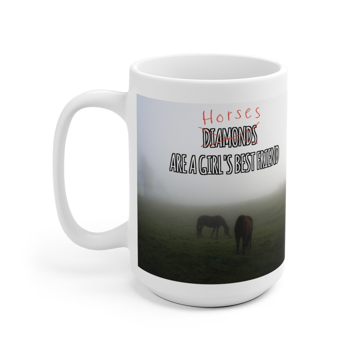 A Horse Ceramic Mug - The Horse Barn
