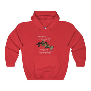 Warm Horsey Unisex Hooded Sweatshirt - The Horse Barn