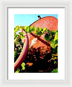 Benzino Bako  - Framed Print - The Horse Barn