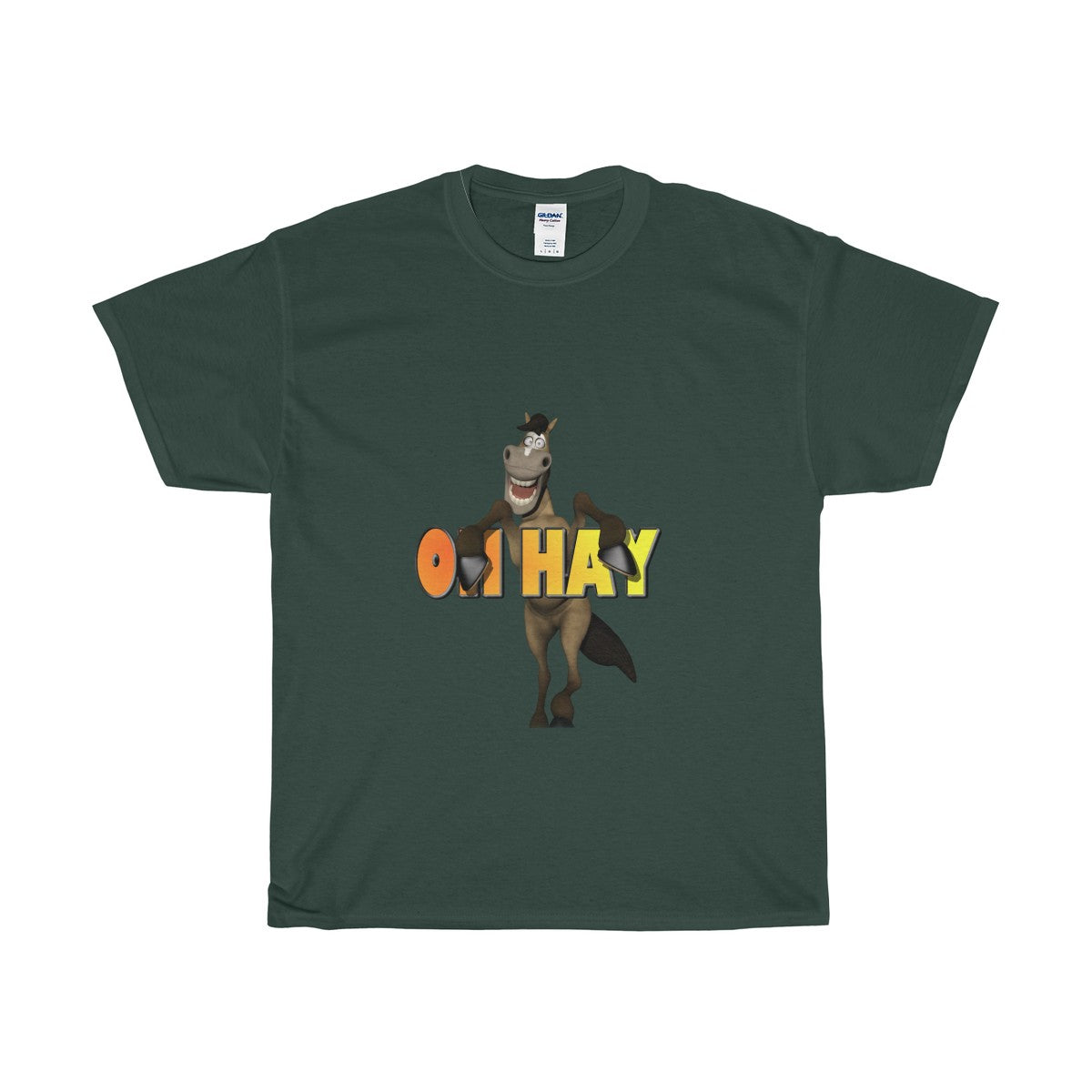 Oh Hay Unisex Heavy Cotton Tee - The Horse Barn