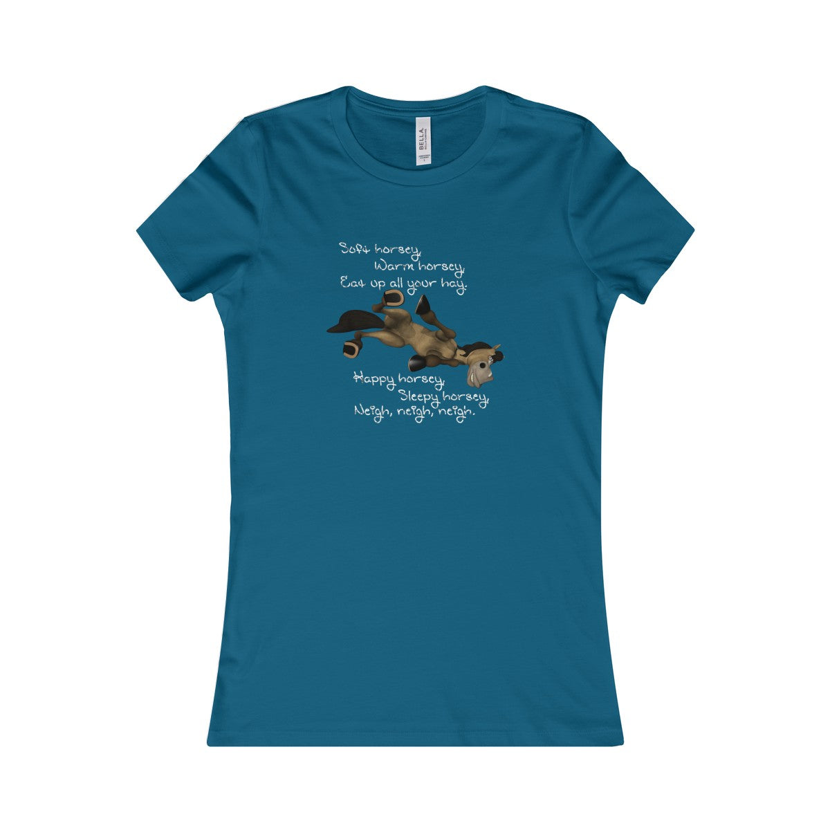 A Warm Horsey Women's Tee - The Horse Barn