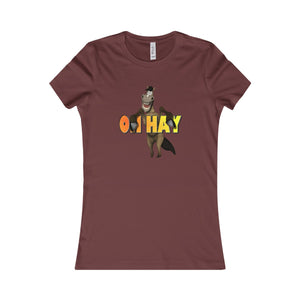 Oh Hay Women's Tee - The Horse Barn