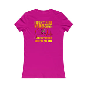 Ride Women's Tee - The Horse Barn
