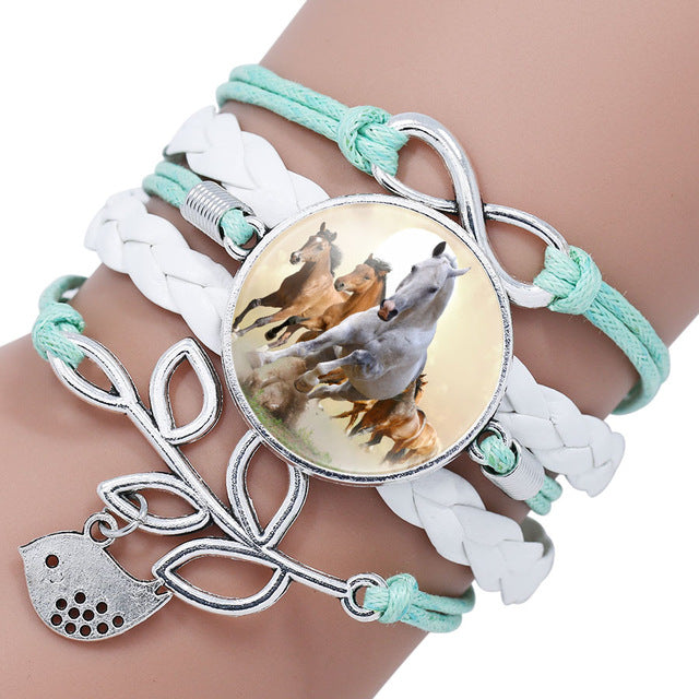 Bracelet Heart, Infinity, Love - The Horse Barn