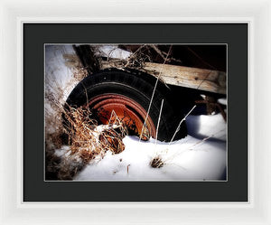 Vetus Rota - Framed Print - The Horse Barn