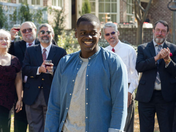 Get Out Daniel Kaluuya wearing Band Collar