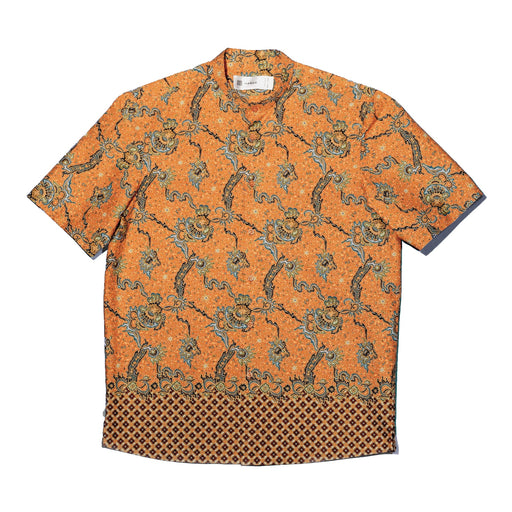 """Orange Dragon"" Batik Shirt"
