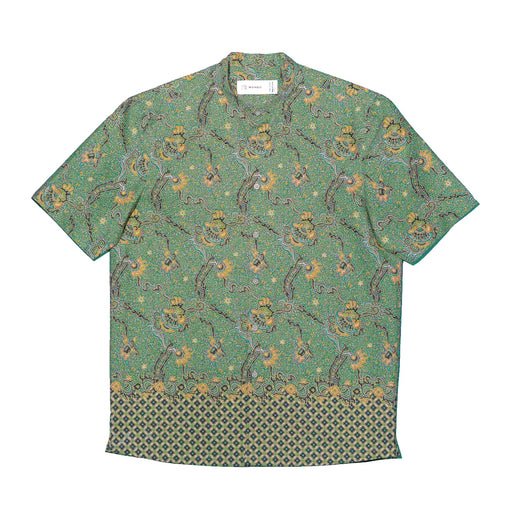 """Green Dragon"" Batik Shirt"