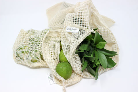 Cotton Mesh Reusable Produce Bag