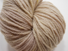 Hamlet ~ Natural Blackberry Hand Dyed Sport Weight Yarn ~ Locally Spun Merino Wool