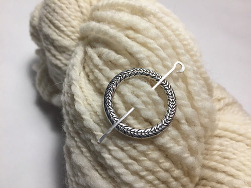 Faire Ring ~ Metal Shawl Pin