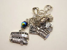 Handmade Silver Metal Stitch Markers ~ Harry Potter ~ Set of 12
