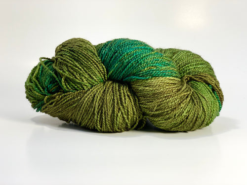 Mismated :  Bog Man ~ Superwash Merino Wool and Silk
