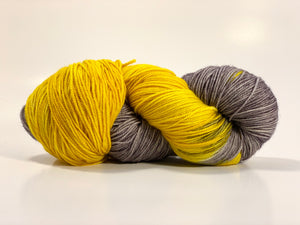 Temporum: MIA Sunshine ~ Superwash Merino, Cashmere, Nylon