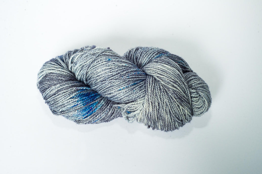 Mismated :  Ferry ~ Superwash Merino Wool and Silk