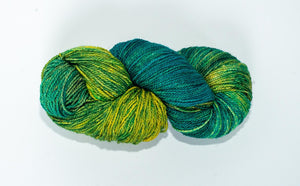 Mismated : Tie Off ~ Superwash Merino Wool and Silk