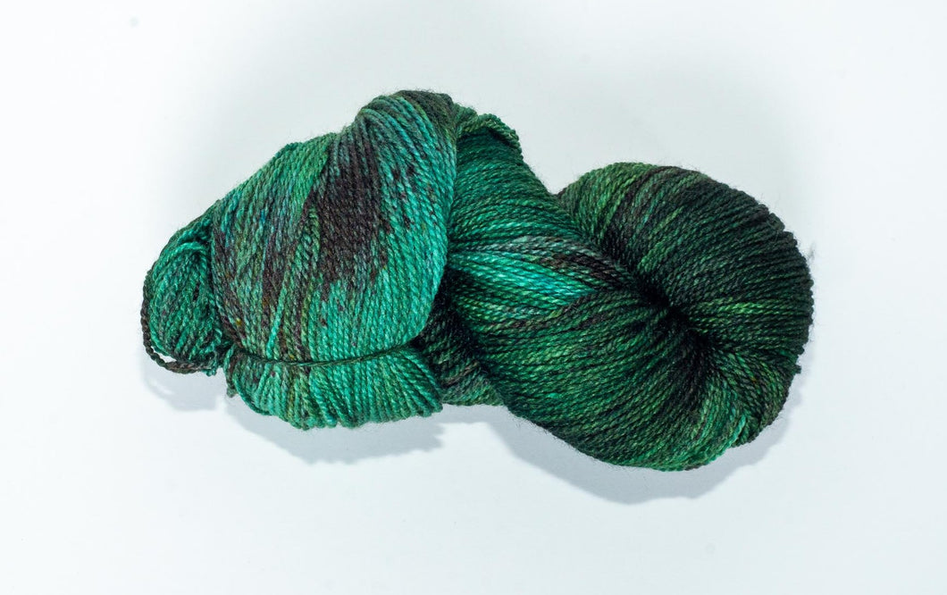 Mismated :  Sound ~ Superwash Merino Wool and Silk