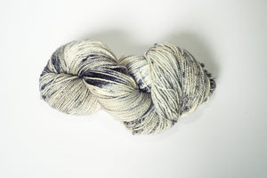 Mismated : Space Needle ~ Superwash Merino Wool and Silk