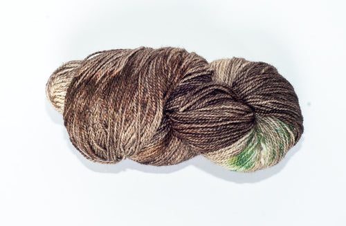 Mismated :  Spawning Ground ~ Superwash Merino Wool and Silk