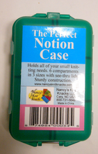 "Plastic Notion Case by Nancys Knit Knacks ""Perfect Notion Case"" in Blue"