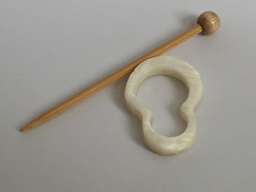 Mother of Pearl Shawl Pin