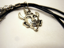 Samulet Necklace ~ Silver and Leather ~ Supernatural Themed Jewelry