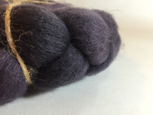 Hand Dyed 100% Domestic Wool Roving 4oz: Shadows