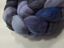 Hand Dyed 100% Australian Merino Wool Roving 4oz: Stairway to Heaven