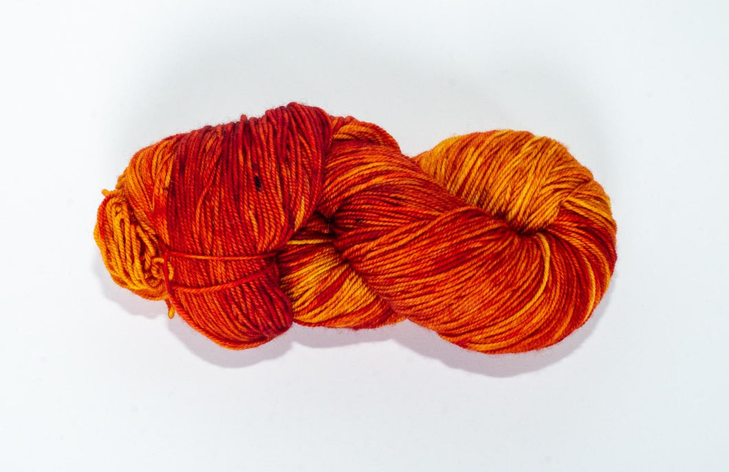 Temporum: Autumn on Gilman ~ Superwash Merino, Cashmere, Nylon