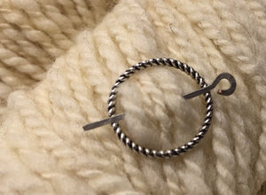 Thornewood ~ Metal Shawl Pin