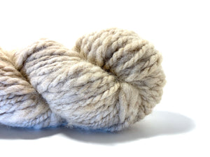 "Handspun Baby Alpaca Yarn ~ Naturally Colored Superbulky ""Dimmer"" 65 yards"